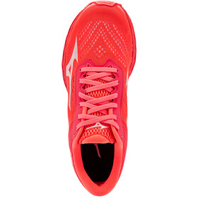 Mizuno Wave Shadow 3 Running Shoes Women, fiery coral/white/fiery coral